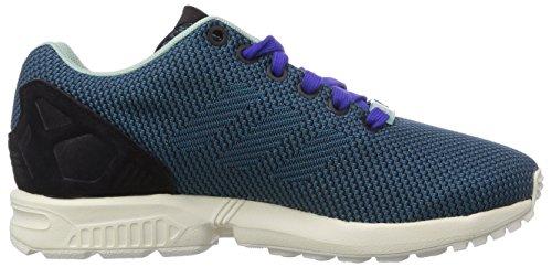adidas Originals Zx Flux Weave, Baskets Basses mixte adulte Blau