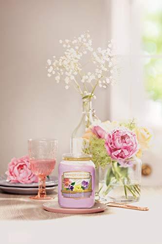 """Sunday Brunch Kollektion Der Yankee Candle Kerze Im Großen Jar, """"Floral Candy"""""""