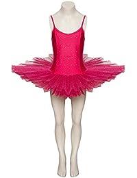 Peony Pink Sparkly Sequin Dance Ballet Leotard Tutu Childs Ladies Sizes By Katz Dancewear