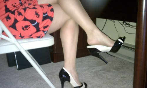 Can suggest foot fetish high heels join