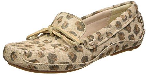 Clarks Damen Natala Rio Mokassin, Mehrfarbig (Leopard Prt Comb), 39.5 EU