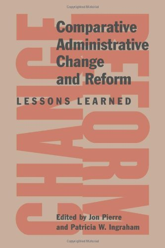 Comparative Administrative Change and Reform: Lessons Learned by Jon Pierre (2010-03-26)
