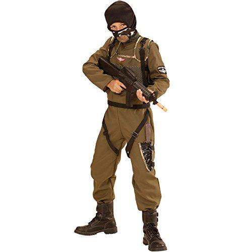 Fallschirmspringer Special Force Kinder Kostüm Spezialkräfte - Special Forces Kind Kostüm