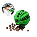 Umiwe Kauspielzeug Bälle für Hunde, Hund Spielen Ball Gummi Zähne Putzen Spielzeug Zahnpflege Zahngesundheit Halten Sie den Hund beschäftigt (S-5CM)