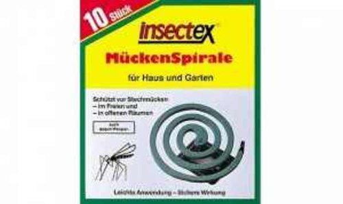 insectex Mückspirale für Haushalt und Garten