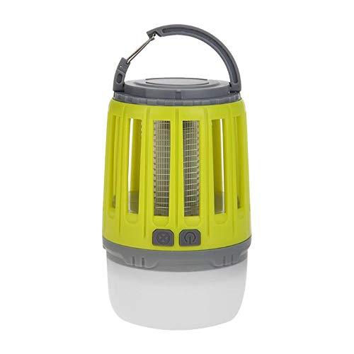 Guomvp Repelente de la lámpara de la Trampa del Asesino del Mosquito de la Carga por USB al Aire Libre casero Mudo Multifuncional