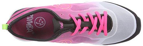 Zumba Footwear Zumba Flex Ii, Chaussures de Fitness Femme Rose (pinkadelic/black)