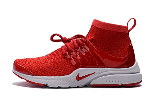 NooElec Seeds India Nike Men's Air Presto Ultra Flyknit Red Running Shoes 9 M INDIA