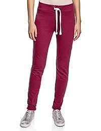 oodji Ultra Mujer Pantalones de Punto Deportivos con Lazos Decorativos f02739f4fbf9