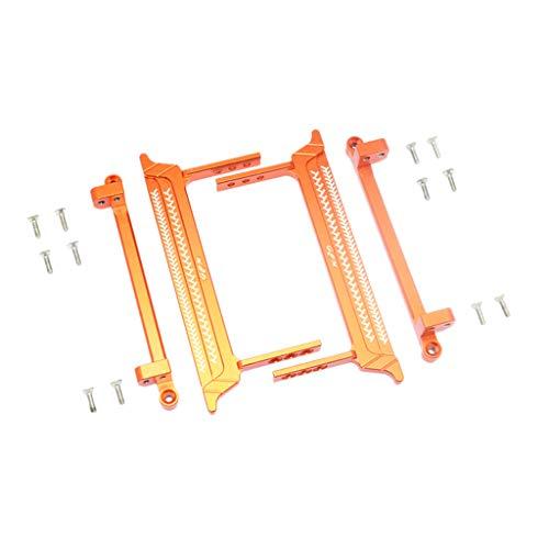 Mitlfuny Auto-Modell Plüsch Bildung Squishy Spielzeug aufblasbares Spielzeug im Freien Spielzeug,Metal Pedal Fuß Side Steps Upgrade Teile für RC Crawler 1/10 Tamiya CC-01 -