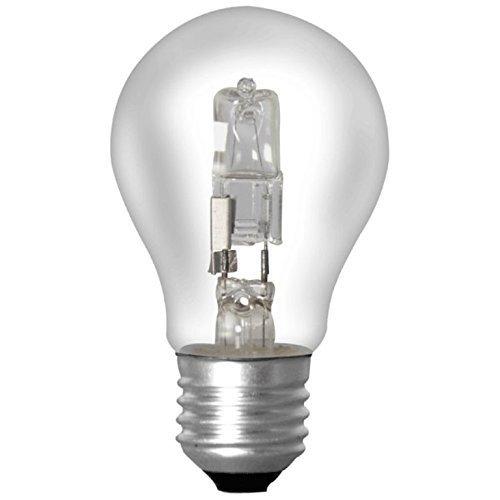4x Havells - Sylvania 0023089 Halogen Classic Birne Glühbirne 28W = 40W E27 Halogenglühlampe 240V 345 lm 2800k (Mü1215) (Glühbirne Sylvania)