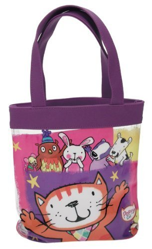 Trademark Collection Poppy Cat Tote Bag by Trademark Collection