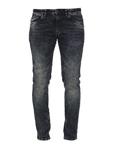 M.O.D Herren Slim Fit Jeans Brown Blue (1584)
