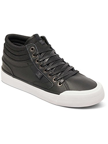 DC Shoes  Evan Hi, Sneakers Basses Femme Noir - Black/Black/White