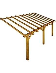 Structure à adosser en bois Prado