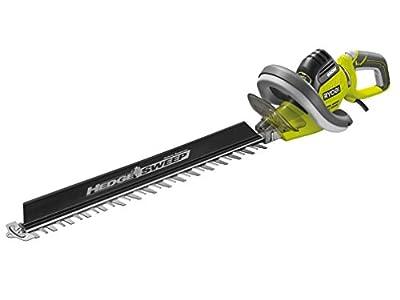 Ryobi RHT5555RSH Hedge Trimmer with HedgeSweep, 550 W