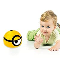 Lalaoo Mini Children Induction Toy, Boys Intelligent Runaway Little Yellow Toy With Shinning Led Light Toy Kids Gifts for Kids Xmas Gift