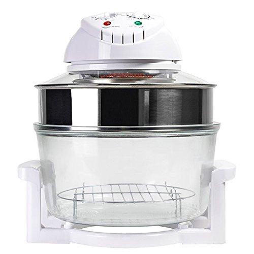 TSC - Four à convection Mini four - Four à chaleur tournante Combi Grill 3001 12 L 1200-1400W Blanc Transparent