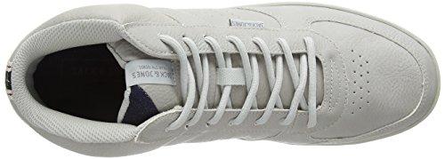 JACK & JONES Herren Jfwdunc Pu Mid Sneaker High-Top Grau (Vapor Blue)