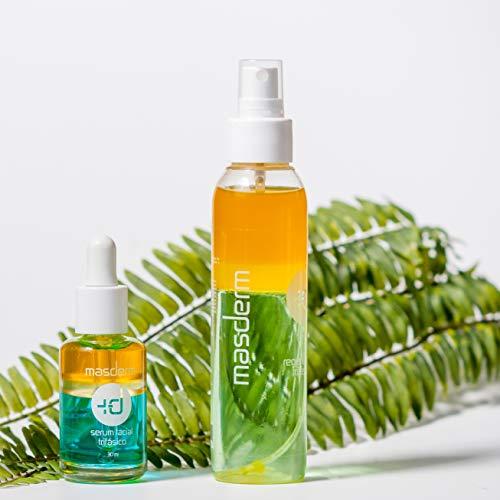 MASDERM - Pack Regalo - Serum Facial Vitamina C Antioxidante + Loción Corporal Regeneradora Vitamina E – Kit Regalo Mujer