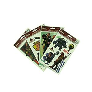 Findingking 24 Small Soldiers Window Clings