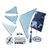 Varga Einzigartiges Design RC Fliegen Fernbedienung Aufblasbare Fisch Shark Ballon Spielzeug
