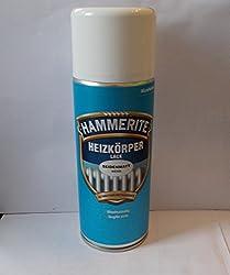 400 ml Hammerite Heizkörperlack Spraylack Weiß, Seidenmatt