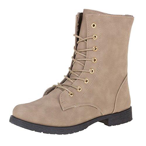 Chaussures, bottines bL3891 Marron - Sable
