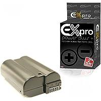 Ex-Pro Nikon EN-EL15, ENEL15, ProPower Elite haute capacité 2200mAh Li-Ion Batterie pour Appareil Photo Numérique pour 1V1, D600, D610, D750, D800, D810, D7000, D7100, D7200