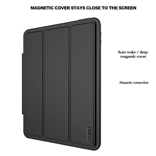 Funda-iPad-Mini-4-caso-Proteccion-Caida-Resistente-con-Tapa-Magnetica-Negro