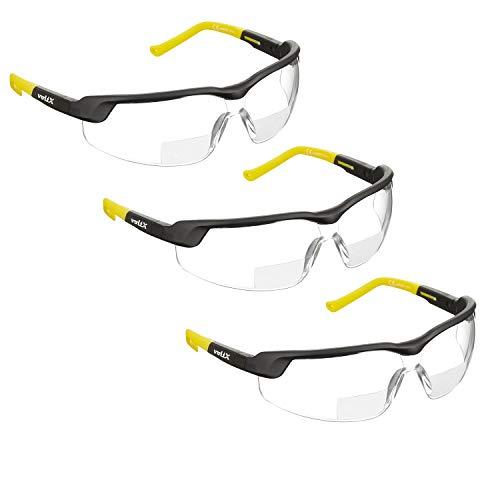 3 x voltX 'GT ADJUSTABLE' 2020 model Gafas seguridad