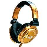 iDance FDJ 500 DJ-Kopfhörer schwarz/gold
