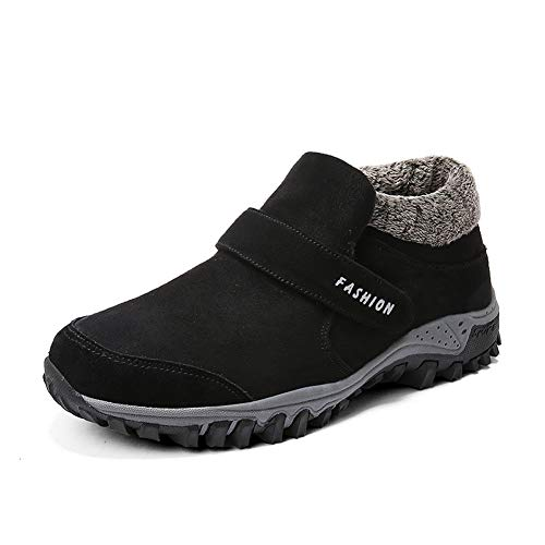 Stivali da neve invernali da uomo Scarpe da trekking Scarpe da caviglia  calde resistenti all  e78030c71d5
