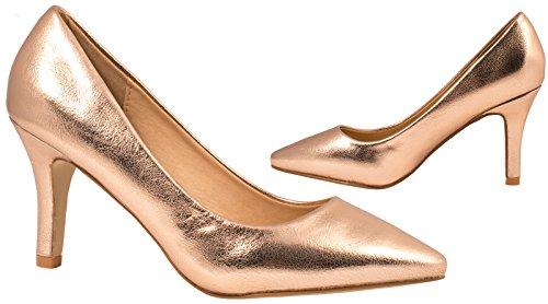 Elara - Scarpe chiuse Donna (bronzo)