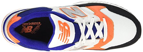 New Balance Nbm530psc, Chaussures de Sport Homme Noir (Black White Spicy Orange)