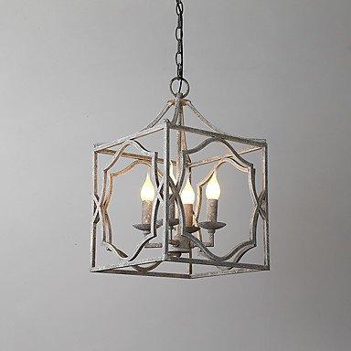 ZYT Vintage Metall Amerikanische Industrie Loft Malerei Farbe europäischen Kronleuchter Lampe für die Innen-und Hotel / Kaffee-Raum / . 220-240v