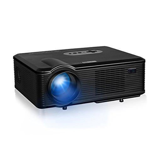 Excelvan CL720D - HD Proyector LED 1080P (3000 Lumenes, 1280 x 800P...