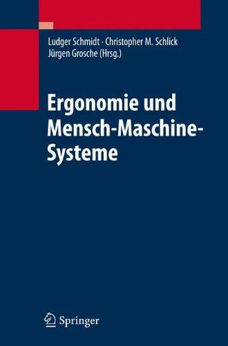 Ergonomie und Mensch-Maschine-Systeme