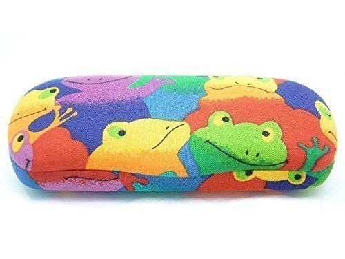 Spa Softcover (Spaß Kinder / Kinder Jungen Mädchen Brillen / Sonnenbrille Hart (Softcover) ' Cutie Monogramm bietet Great Schutz erhältlich in 2 Frosch & Katze DESIGNS geeignet 4 - 10 Jahre - Frösche, Kinder, Kids)
