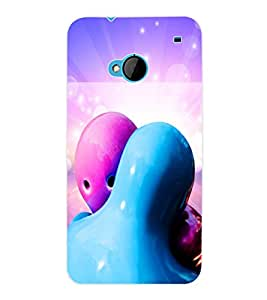 ColourCraft Cartoon Back Case Cover for HTC ONE M7