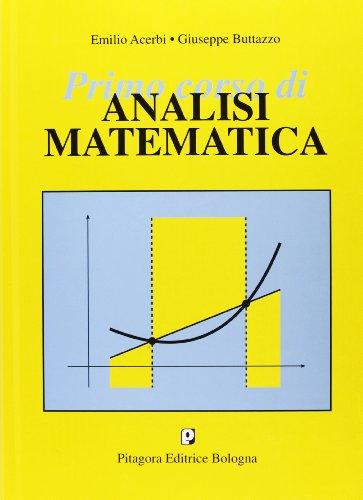 Primo corso di analisi matematica
