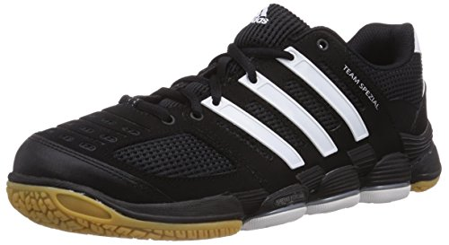 Adidas Performance - Team Spezial, Sneakers da uomo Nero (Black/running White Ftw/metallic Silver)