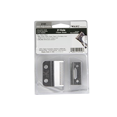 Wahl 2191 2-hole adjustable clipper blade set