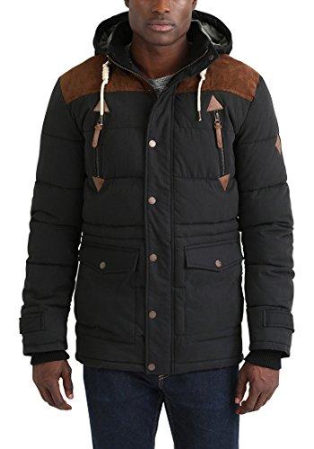 SOLID Dry Jacket Long - Veste d'Hiver- Homme Black (9000)
