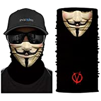 ShopINess Cache-Cou/Bandana Multifonctions - Vendetta