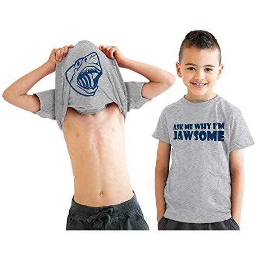 Snowbluff nuova liquidazione estiva ragazzi 2019 nuove caratteristiche flip t-shirt cartoon alfabeto stampa top casual colore puro moda camicia vestito gentiluomo sciolto