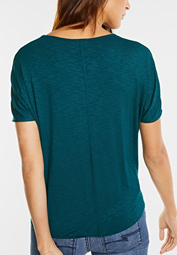 ... Street One Damen Shirt mit Tiger-Print monsoon green (grün) ...