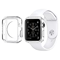 DeetŽ Apple Watch Case 38MM Slim Fit Apple Watch Gel Protective Cover