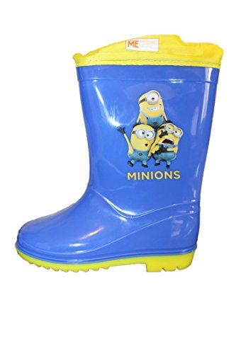 Despicable Me Bottes de Pluie Les Minions-Bleu et Jaune-Garçon