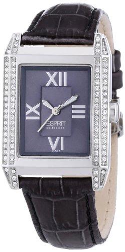 Esprit EL101202F03 - Reloj analógico para mujer de cuero gris